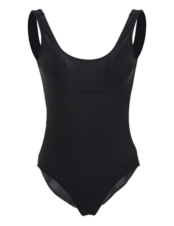 Liebeye ビキニ 女性 セクシー ベア-バック タイト 水着 ソリッド カラー 水着 スーツ ホリデー ビーチの服 ギフト 2XL