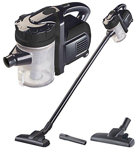 Sichler Haushaltsgeräte Besenstaubsauger: 2in1-Zyklon-Hand- & Boden-Staubsauger mit 2 Aufsätzen, 600 W, 230 V (Stabstaubsauger)