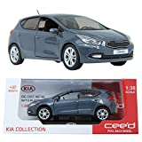 Pino B&D KIA Ceed 1:38 Diecast Miniature Blue Color Display case Pull Back Ceed