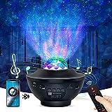 Nestling Luz Nocturna Infantil.Lámpara proyector estrellas Infantil,galaxy projector con Remoto y Bluetooth.para Bebe.dormitorio, fiesta, cumpleaños, familia, pequeños obsequios de Regalo Navidad.