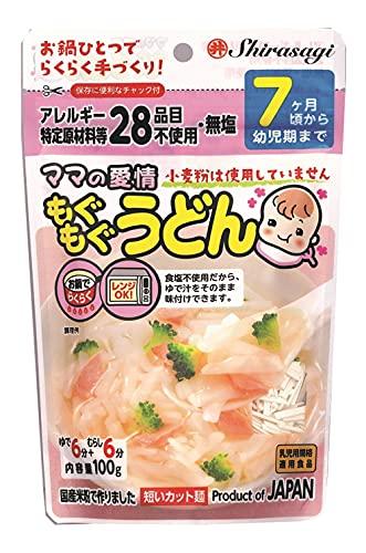 東亜食品 ママの愛情 もぐもぐうどん 100g ×12袋