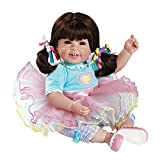 Adora ToddlerTime Sugar Rush Doll with Colorful Party Outfit, Pink Patent Shoes and Sparkly Tutu