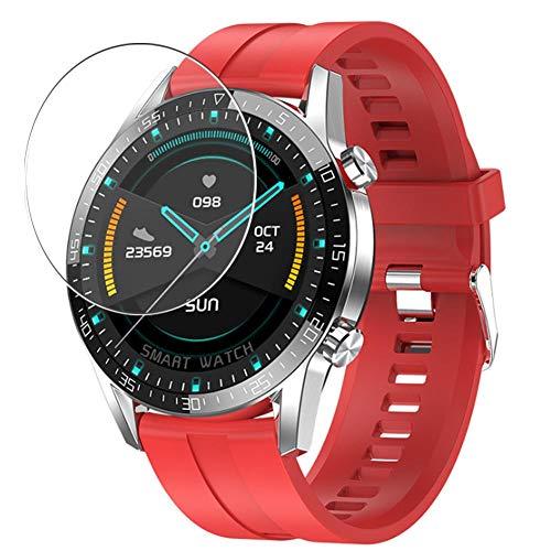 Vaxson 3 Stück Schutzfolie, kompatibel mit smartwatch Smart Watch G5, Displayschutzfolie TPU Folie [ nicht Panzerglas ]