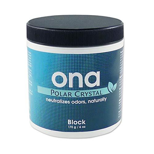 ONA Block Polar Crystal Geruchsneutralisierer 175 Gramm Dose Lufterfrischer