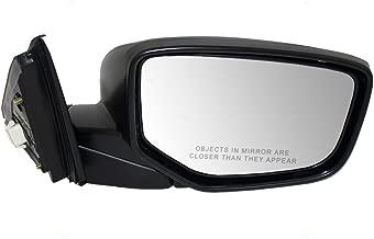 Passengers Power Side View Mirror Heated Replacement for Honda 76208-TA5-A11 AutoAndArt