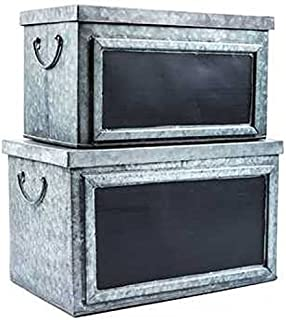 Best metal storage boxes with lids Reviews