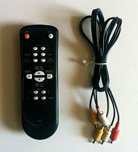 『ドウシシャ 19ミクロン/S-VHS搭載 VHS再生専用ビデオカセットプレーヤーBKSV-1』の4枚目の画像