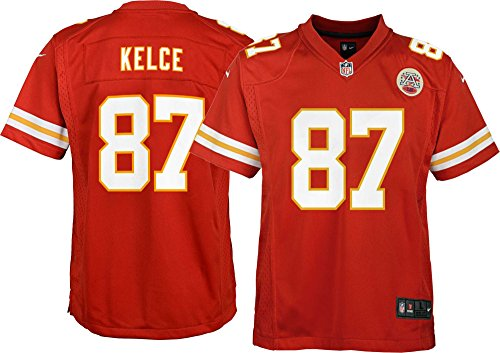 Nike Kansas City Chiefs Travis Kelce #87 Youth Boys (8-20) Game Jersey - Red (Youth Small 8)