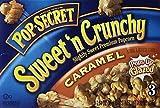 Pop Secret Sweet 'n Crunchy Caramel Popcorn, 3 Count, 7.92 Ounce 3 Boxes