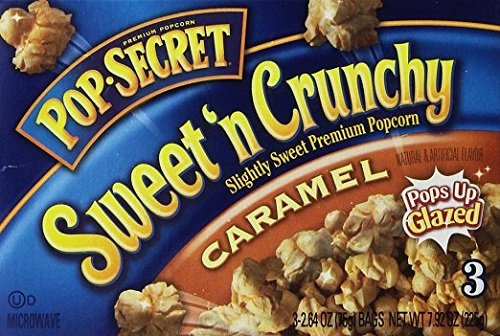Complete Free Shipping Max 41% OFF Pop Secret Sweet 'n Crunchy Caramel 3 Popcorn 7.92 Count Ounce