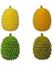 Stress Balls Toy Durian Sensory Fidget Speelgoed Stress Relief Anti Angst Speelgoed Decompressie Toys Veiliger Kunstmatig Speelgoed Voor Volwassenen En Kinderen 12x7,5 Cm