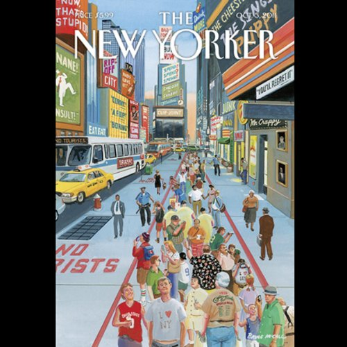 The New Yorker, October 3rd 2011 (John Colapinto, Lauren Collins, Thomas McGuane) cover art