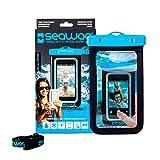 SEAWAG B2X Funda acuática para Smartphone Sumergible 25 m, Negro/Azul