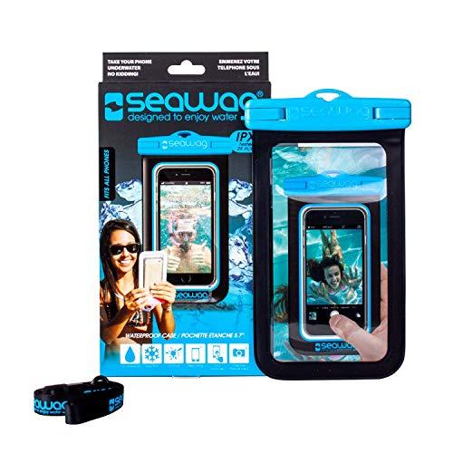 SEAWAG Waterproof case for smartphone schwarz und weiß