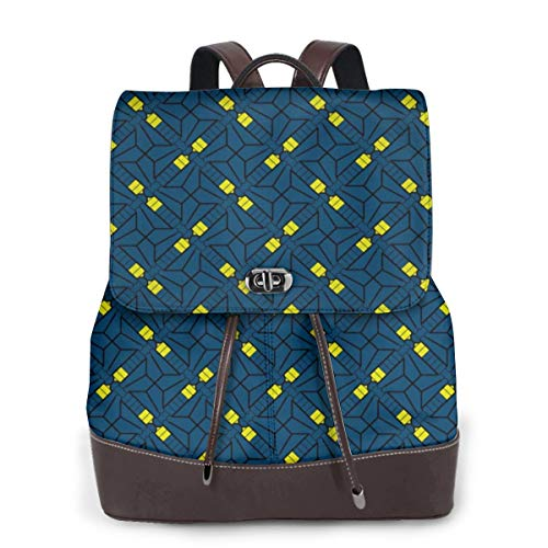Womens Travel Backpack Firefly Genuine Leather Bags Purse