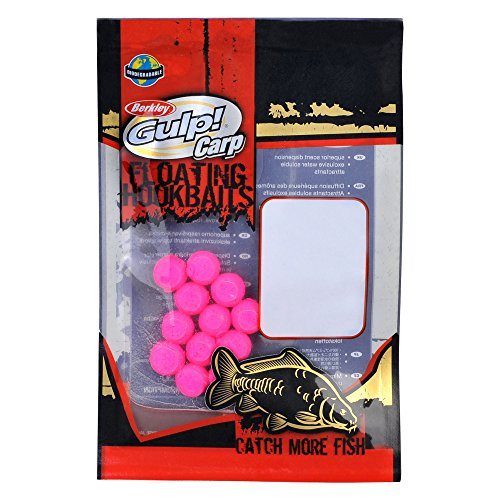 Berkley Gulp! Floating Hookbaits Mini Boilie pink