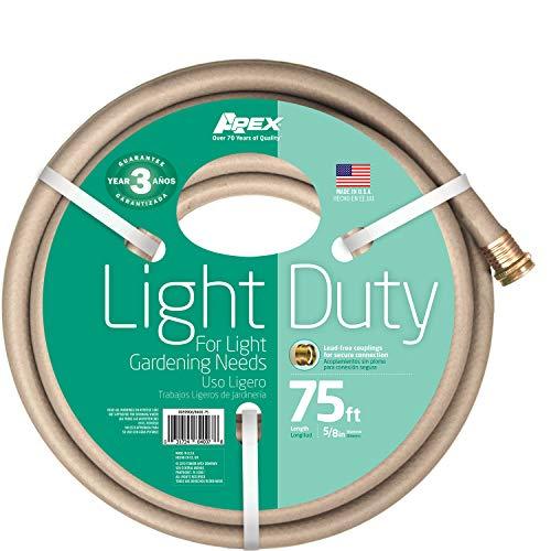 Apex 8400-75 Light Duty Garden Hose, 5/8-Inch by 75-F