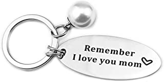 Couple Keychain Set Love You Mom Keychains Daddy Friends Key Rings for Christmas