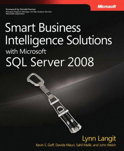 Smart Business Intelligence Solutions with Microsoft® SQL Server® 2008 (PRO-Developer)