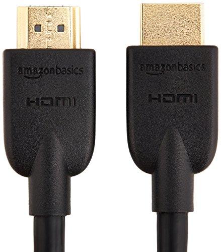 Xoro HSD 8470 HDMI MPEG4 DVD-Player (USB 2.0, Mediaplayer, 1080p Upscaling) schwarz & Amazon Basics – Hochgeschwindigkeitskabel, Ultra HD HDMI 2.0, unterstützt 3D-Formate, mit Audio Return Channel, 3m