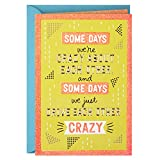 Hallmark Funny Love Card, Crazy (Romantic Anniversary Card or Birthday Card)