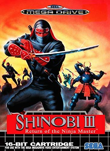 ELITEPRINT Póster de Shinobi 3 Sega Mega, Drive Classic Retro, A3, material...