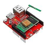 Tarjeta de Expansión 1pcs RT5350 OpenWRT Router WiFi vídeo for Arduino - Los productos que funcionan con placas oficiales Para el kit arduino