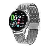WMB Regalo De Mujer Reloj Inteligente DT88 ECG Fitness Music Control Smartwatch Hombres Impermeable Rastreador,B