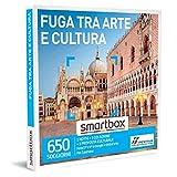 smartbox - Cofanetto Regalo - Fuga tra Arte e Cultura - Idee Regalo - 1 Notte con Colazione e 1 proposta culturale per 2 Persone
