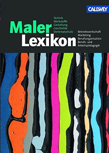MalerLexikon: Aktualisierte Neuauflage 2009