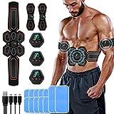 ENBIHOUSE Abs Stimulator,Abs Stimulator Muscle Toner, Abdominal Toning Belt Muscle Trainer,Portable Fitness...