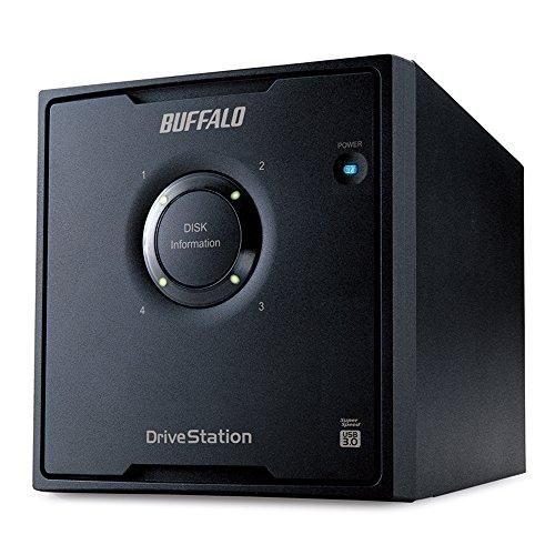 BUFFALORAID5対応USB3.0用外付けハードディスク4ドライブモデル8TBHD-QL8TU3/R5J