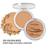 PHOERA Powder Concealer Matte Oil Control Buildable Coverage Mattifying Powder Foundation Makeup By Keepfit(E)