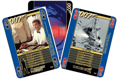 James Bond - Guns And Gadgets Playing Cards
