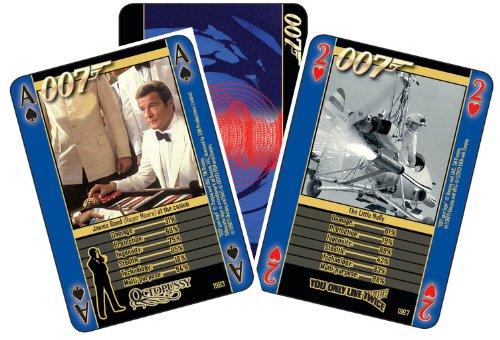 James Bond - Guns And Gadgets Playing Cards