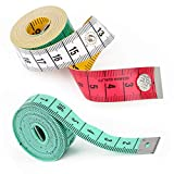 2pcs Soft Tape Measure Double Scale Body...