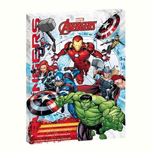 Dekora Marvel Vengadores 2019 Chocolate con Leche Calendario de Adviento Exclusivo