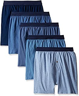 Hanes Men's 5-Pack Comfortsoft Boxer with ComfortFlex...