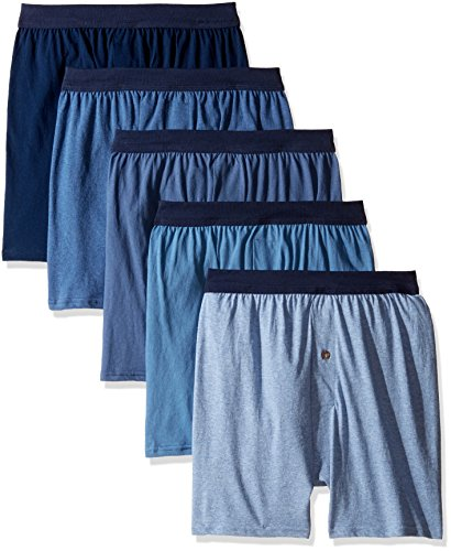 Hanes Men's 5-Pack Comfortsoft Boxer with ComfortFlex Waistbands, Assorted colors, X-Large