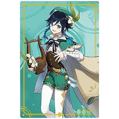 原神[Genshin] ウエハース [22.ウェンティ (R)](単品)※カードのみです。お菓子は付属しません。