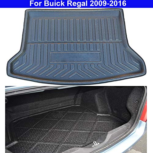 rong-car1 1 x Kofferraummatte, rutschfeste Bodenmatte für den Kofferraum, für Regal 2009, 2010, 2011, 2012, 2013, 2014, 2015, 2016.