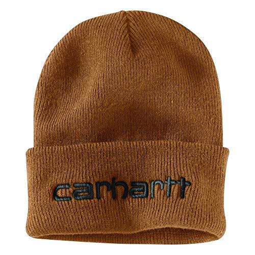 Carhartt Herren Teller Hat Hut für kaltes Wetter, Braun, Einheitsgröße