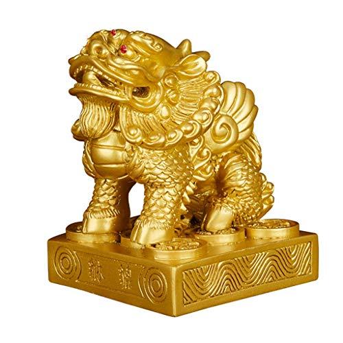 Chinesische Feng Shui Reichtum Wohlstand Harz General Pi Xiu/Pi Yao Statue, Beste Dekoration für Büro oder Zuhause...