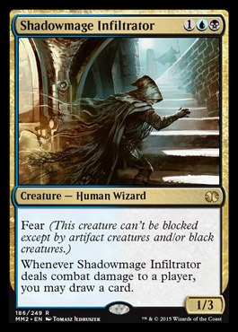Magic The Gathering - Shadowmage Infiltrator (186/249) - Modern Masters 2015