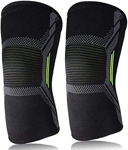 Knee Sleeve Knee Support Brace for Joint Pain and Arthritis Relief Improved Circulation Compression product image
