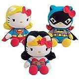 Jemini 023675–Lote de 3Peluches +/-27cm Hello Kitty DC Comics