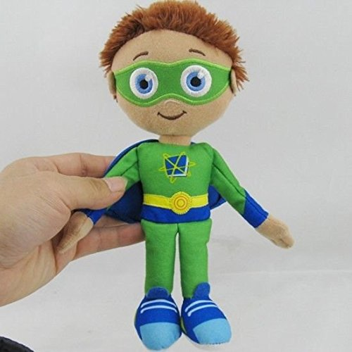 Super why plush - Super why wyatt excellent qulity Medium sized plush toy - 10cm size officially sold by Blue Boost