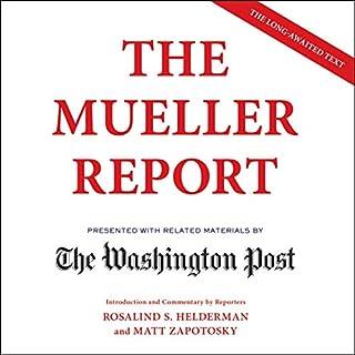 The Mueller Report audiobook cover art