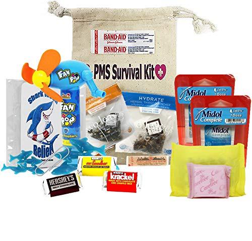 PMS Survival Kit - Shark Week Relief - Comfort Care Package