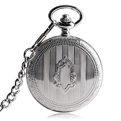 XIAOJIAN Exquisito Reloj de Bolsillo: Reloj de Bolsillo, Reloj automático Hombres Steampunk con Estilo Steampungy Hombres Clock Clock Time Shield Mecánico Fob Xmas GiftCommodity Código: LXJ - 26